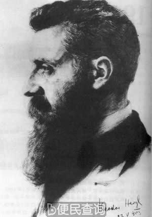 犹太复国主义运动领袖赫茨尔病逝