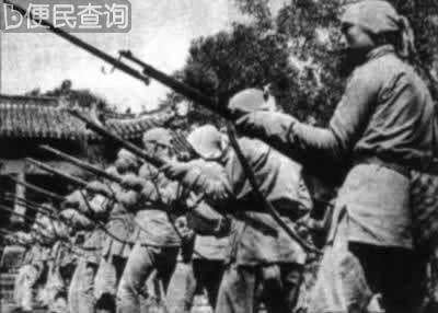 马本斋组建冀中回民支队