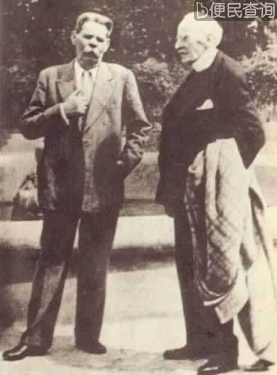 法国作家罗曼·罗兰逝世