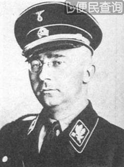 希姆莱接管集中营